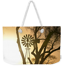 Spinning In The Sundown Weekender Tote Bag