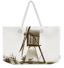 Weekender Tote Bag featuring the photograph Wind Mill In France 1900 Historical Photo by California Views Mr Pat Hathaway Archives