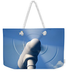Wind Turbine Rotating Close-up Weekender Tote Bag