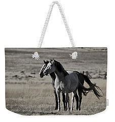 Weekender Tote Bag featuring the photograph Windblown D3560 by Wes and Dotty Weber