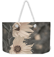 Windblown Wild Sunflowers Weekender Tote Bag