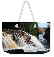 Winding Falls Weekender Tote Bag by James Peterson