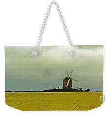 Windmill And Rapeseed And Storm Weekender Tote Bag