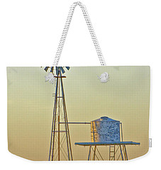 Windmill At Dawn 2011 Weekender Tote Bag by Allen Sheffield