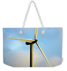 Windmill Dark Blue Sky Weekender Tote Bag