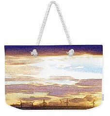 Windmills Weekender Tote Bag by Nina Ficur Feenan
