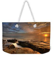 Windnsea Gold Weekender Tote Bag