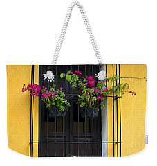 Window At Old Antigua Guatemala Weekender Tote Bag