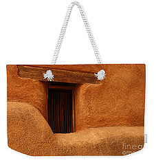 Window Detail Degrazia Mission In The Sun Weekender Tote Bag