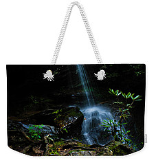 Weekender Tote Bag featuring the photograph Window Falls by Jessica Brawley