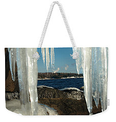 Weekender Tote Bag featuring the photograph Window Into Minnesota by James Peterson