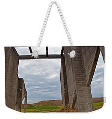 Weekender Tote Bag featuring the photograph Window Into The Future by Tikvah's Hope