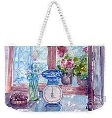 Window Weekender Tote Bag by Jasna Dragun