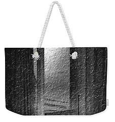 Window Ocean View Black And White Digital Painting Weekender Tote Bag
