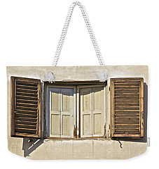Window Of Tuscany Weekender Tote Bag