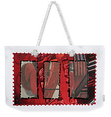 Window Panes Weekender Tote Bag