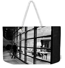 Window Shopping In The Dark Weekender Tote Bag by Melinda Ledsome