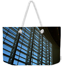 Window Wall At The Adrienne Arsht Center Weekender Tote Bag by Greg Allore