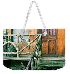 Windows And Doors 25 Weekender Tote Bag by Maria Huntley