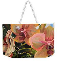 Windowsill Orchids Weekender Tote Bag