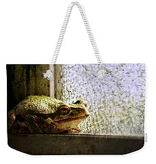 Windowsill Visitor Weekender Tote Bag