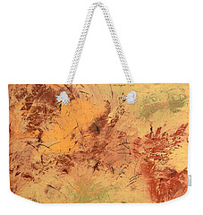 Weekender Tote Bag featuring the painting Windy Day by Linda Bailey