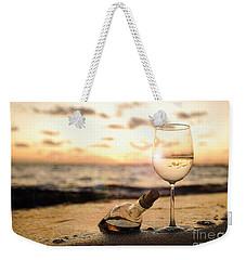 Wine And Sunset Weekender Tote Bag