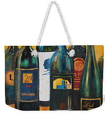 Wine Bar Weekender Tote Bag