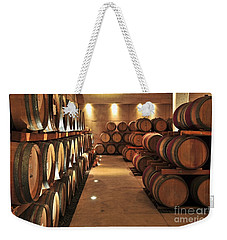 Wine Barrels Weekender Tote Bag