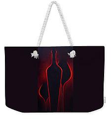 Wine Glow Weekender Tote Bag