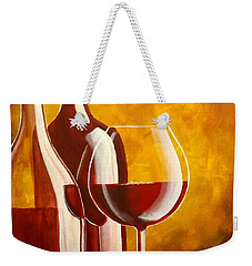 Wine Not Weekender Tote Bag by Darren Robinson
