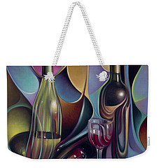 Wine Spirits Weekender Tote Bag