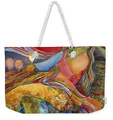 Wine Woman And Song Weekender Tote Bag