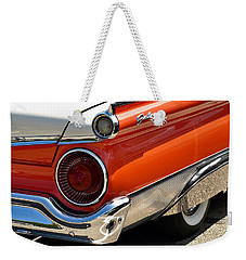 Wing And A Skirt - 1959 Ford Weekender Tote Bag