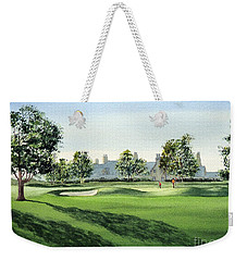 Winged Foot West Golf Course 18th Hole Weekender Tote Bag