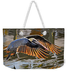 Wings Of Gold Weekender Tote Bag