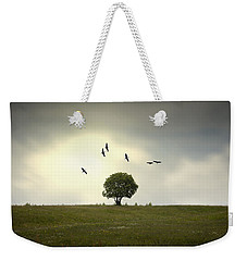 Wings Over The Tree Weekender Tote Bag