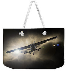 Weekender Tote Bag featuring the photograph Wings by Paul Job