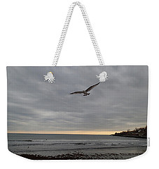 Weekender Tote Bag featuring the photograph Wings by Robert Nickologianis