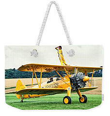 Wingwalking Weekender Tote Bag