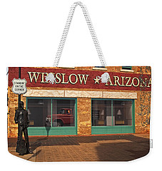 Winslow Arizona Weekender Tote Bag