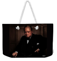 Winston Churchill Weekender Tote Bag