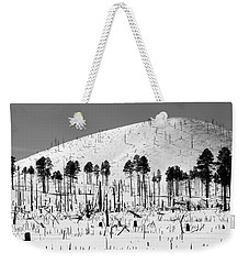 Winter After Fire-san Francisco Peaks Weekender Tote Bag