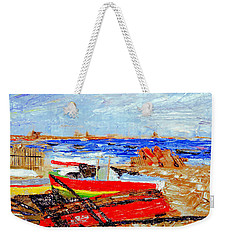 Winter At Provincetown Weekender Tote Bag