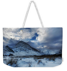 Winter At Tryfan Weekender Tote Bag