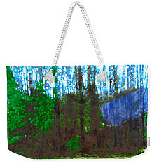 Weekender Tote Bag featuring the photograph Winter Awaits Spring by Seth Weaver