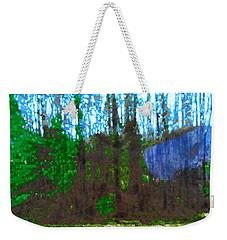 Winter Awaits Spring Weekender Tote Bag by Seth Weaver