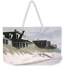 Winter Beach Weekender Tote Bag by Blue Sky