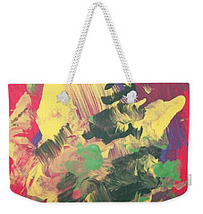 Weekender Tote Bag featuring the painting Winter Bouquet by Sharon Duguay