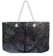 Winter Candelabrum Weekender Tote Bag